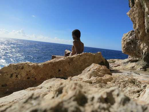 contemplation on saipan