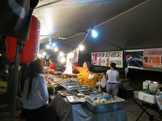 Canton Restaurant's stall at the Street Market, Saipan