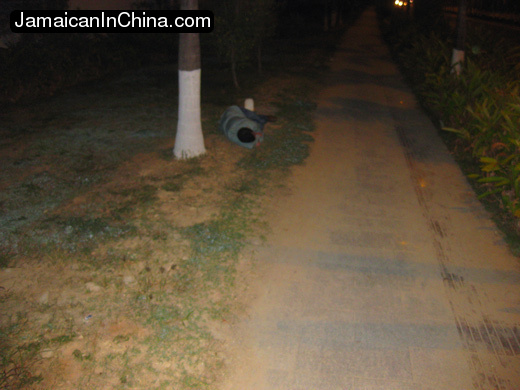 The streets of Hainan