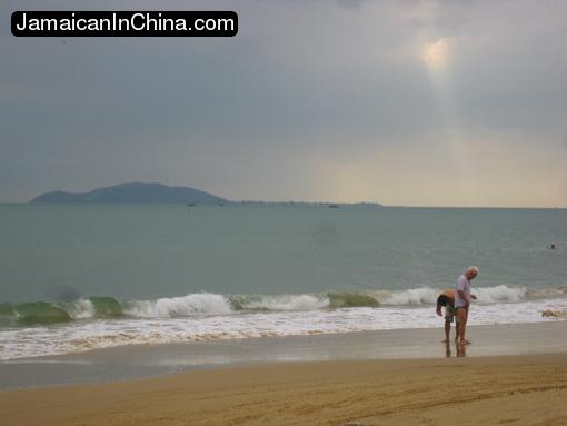 beach, sanya hainan, china