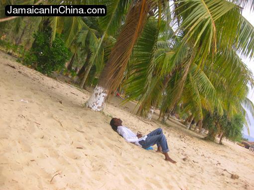 Sanya, Hainan, China, beach