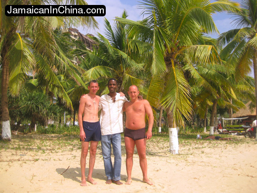 Russian vacation on hainan china