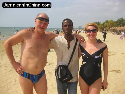Russian vacation on hainan china