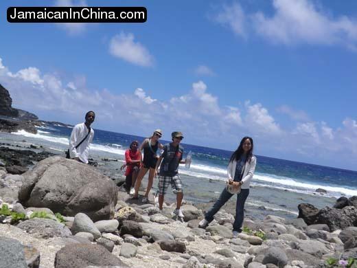 Forbidden Island trek on Saipan