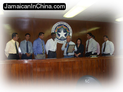CNMI senate resolution award ceremony saipan