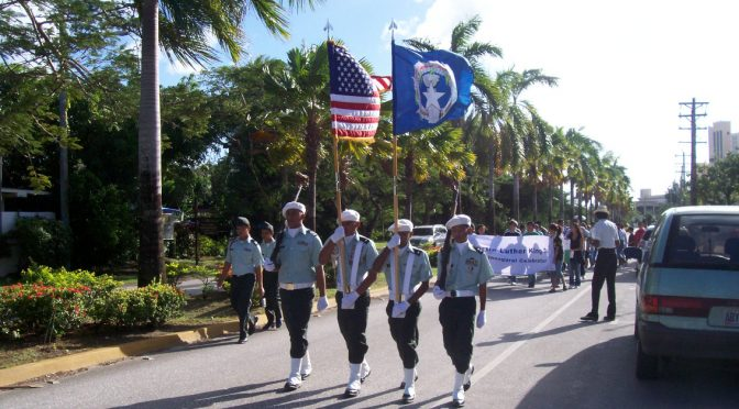 MLK Day on Saipan: What a month!