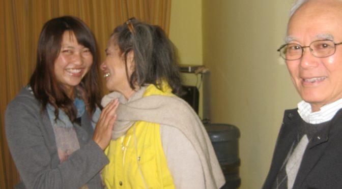 My aunt called me a chicken, but Myrna Chen is now my friend!