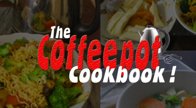 Recipes from the Coffeepot Cookbook!