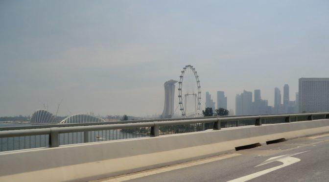 Scene in Singapore!