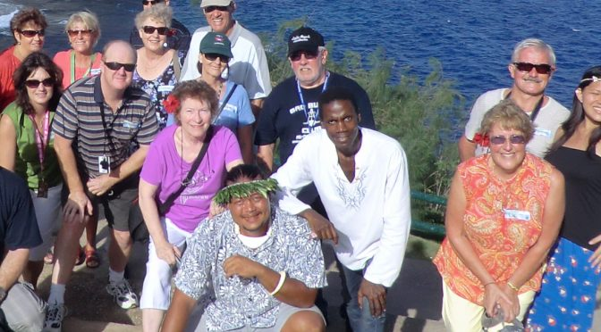 The short happy tale of 41 Australians and the Jamaican on Saipan!