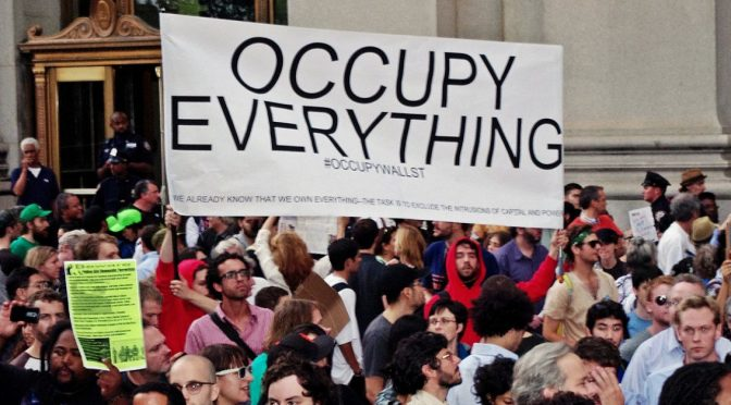 Occupy Wall Street, The Uprising goes viral! Bob Marley would be proud!