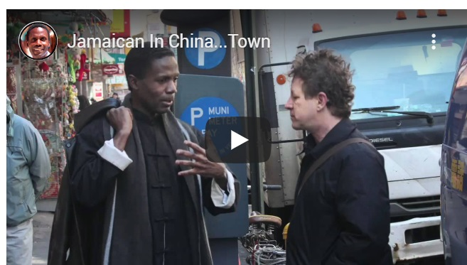 Jamaican in China….town!