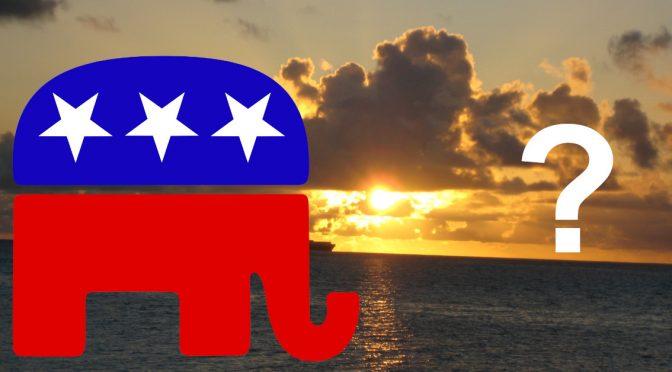 Mitt Romney, Saipan, Northern Mariana Islands, Republicans and, um…me???