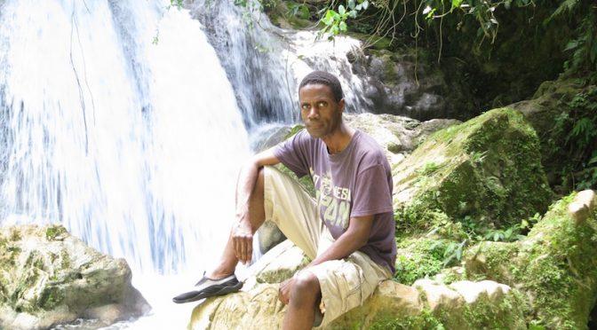 Jamaicans in Reach Falls