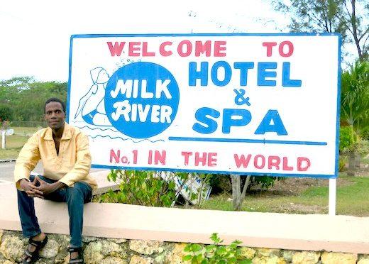 Jamaican in Milk River…