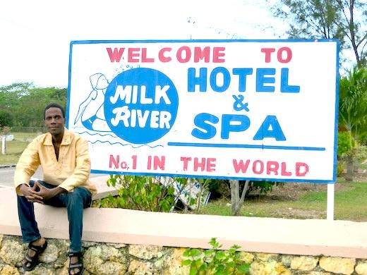 Milk River Spa in Clarendon