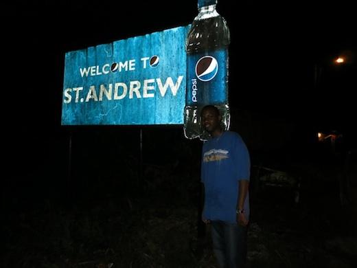 Night falls on St. Andrew