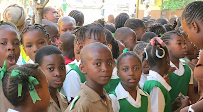 School time in Jamaica!