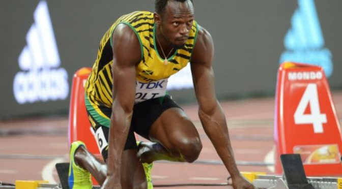 The secret to Usain's success? I don't think so…
