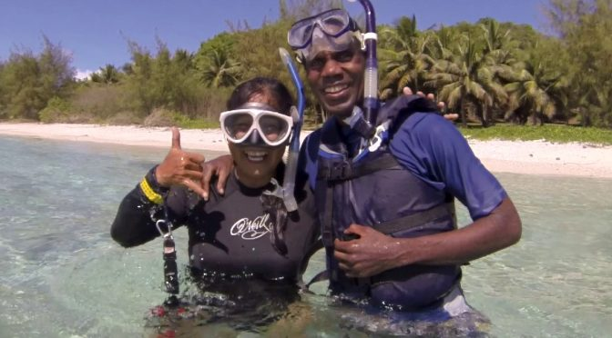 Jamaican under the ocean, Jamaican under the sea!
