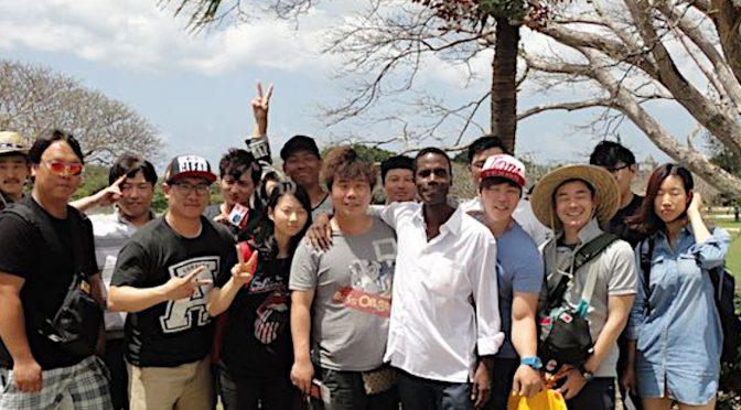Chinese idol group, SNH48, films video on Saipan