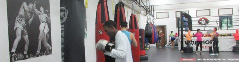 Vegan Boxing Warrior in Macau!