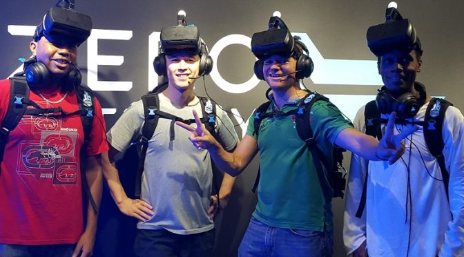 Virtual reality mission, Macau style!