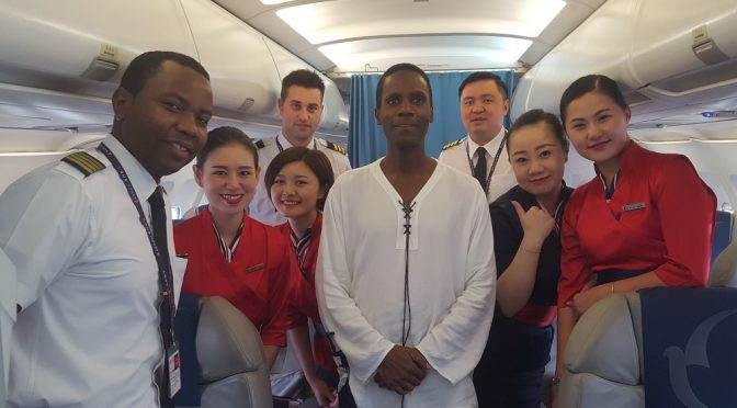 Jamaican Air Macau pilot flies me to Da Nang, Vietnam!