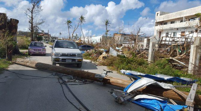 My Typhoon Yutu experience on Saipan