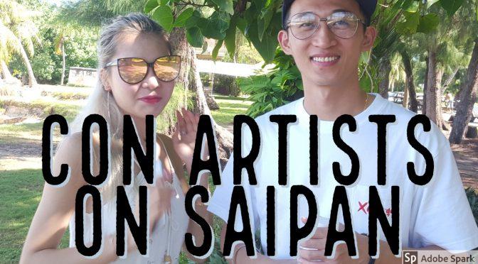 Tourist couple scams local vendors on Saipan, CNMI